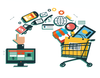 Shopping cart, steps to Starting an eCommerce Business